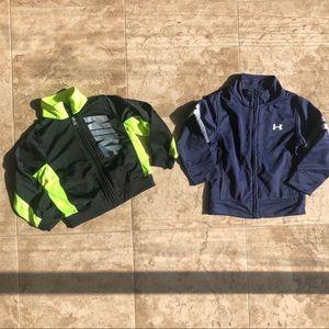 Nike & Under Armour boys jackets